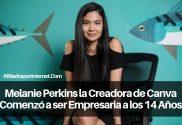 Melanie Perkins la Creadora de Canva Comenzó a ser Empresaria a los 14 Años