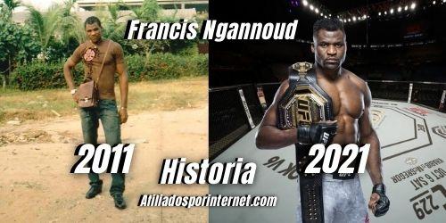 Revelación Poderosa Sobre Francis Ngannoud Campeón Perdido en UFC - Afiliados por Internet